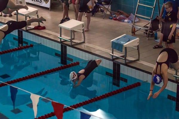 quad amputee swimming