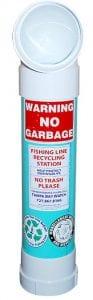 fishing line disposal