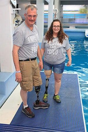 Limb loss awareness counselors