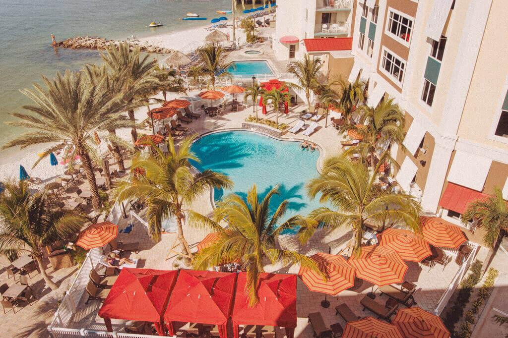 Hampton Inn Suites Clearwater Beach Pool