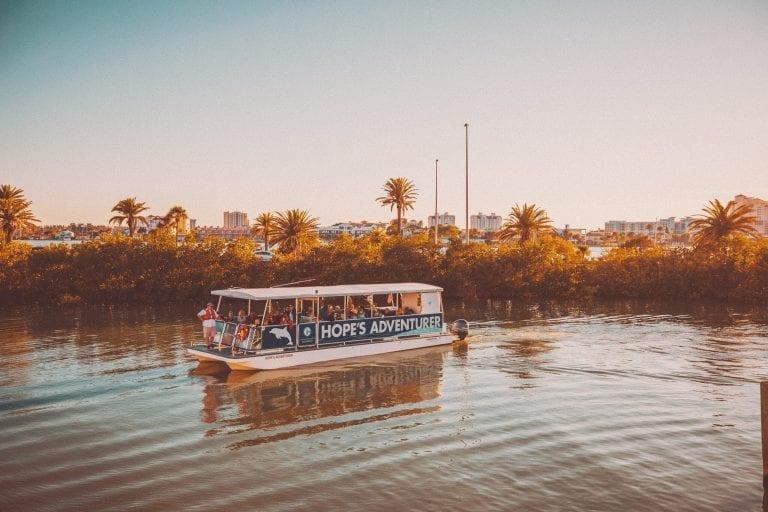 Sunset Cruise Boat Tour on Hope's Adventurer