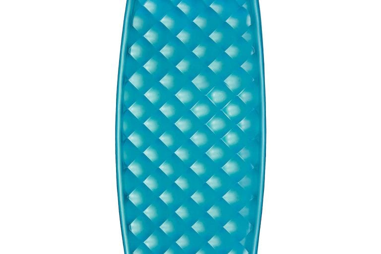 blue float mat