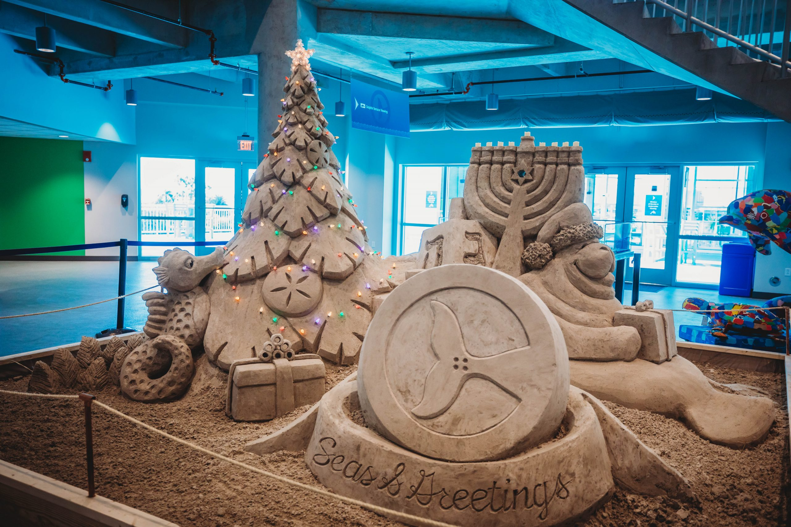 holiday sand castle