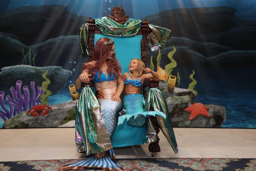 Mermaid meet and greet
