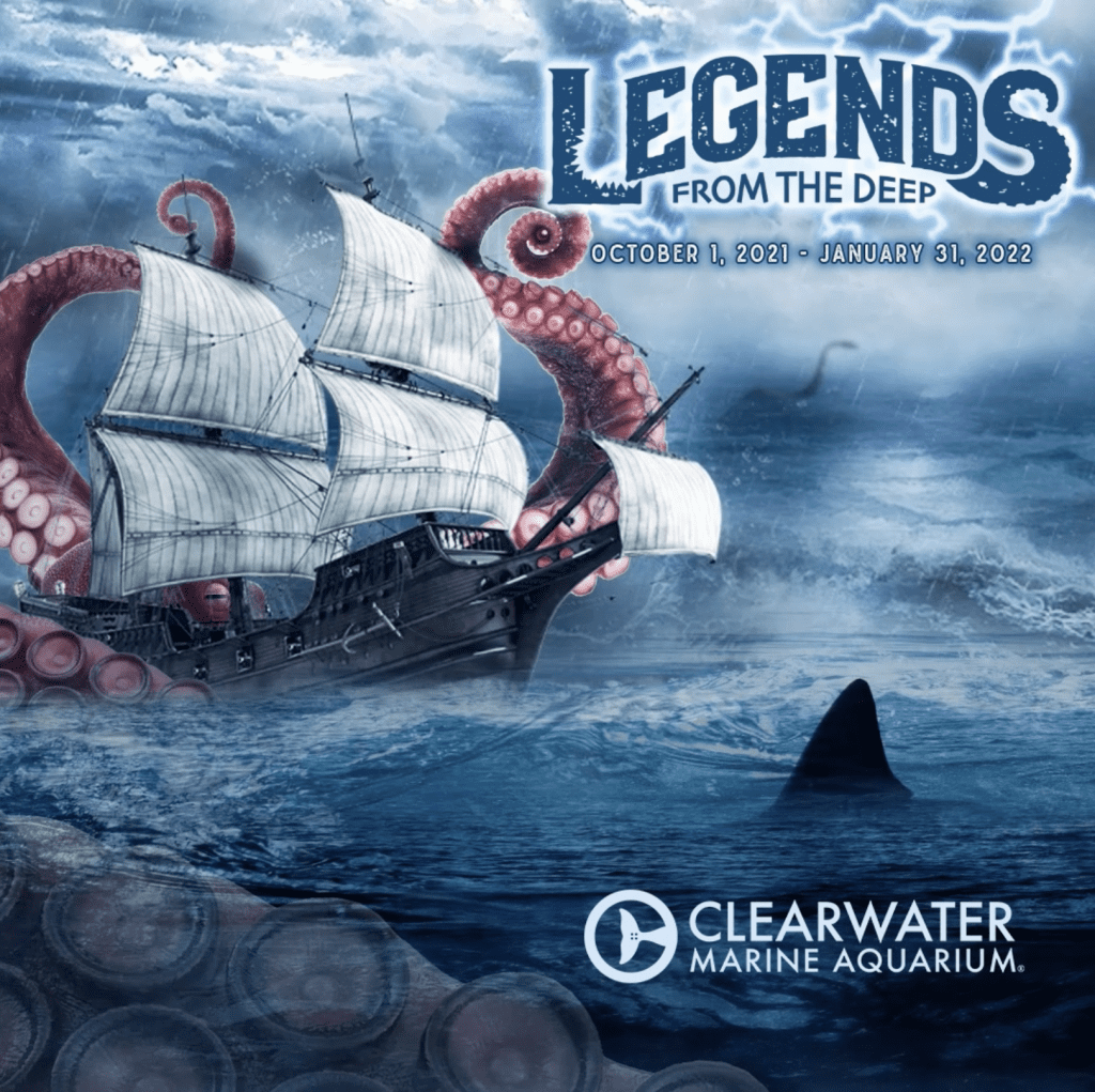 legends from the deep graphic
